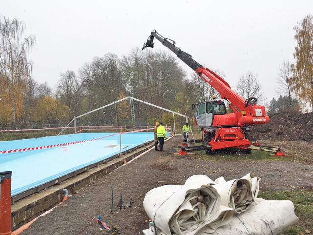 Sonderkonstruktionen zvg zeltverleih for Schwimmbadsanierung